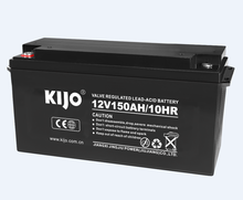 Lead acid deep cycle battery for UPS back up storage 12v 150Ah