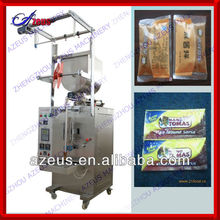 86-371-65996917 hot selling Food paste packaging machine vffs paste form fill machine