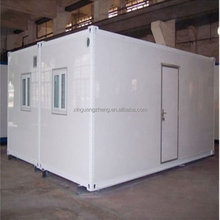 Steel construction shipping living prefab storage houses/coffee room/ movable container home with CE and ISO9002