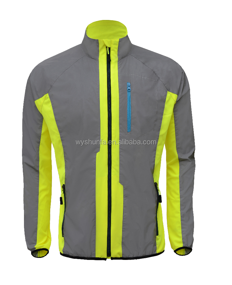 cycling wear new design cheap China sport coat , with high quality 100% polyester fabric