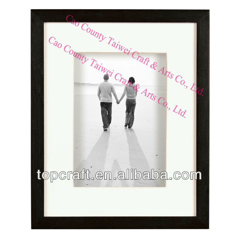 "Wood Shadow Box Frame for a 11x14"" Photograph"