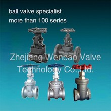Threaded 316 stainless steel gate valves / non rising Rising stem gate valve / rising spindle gate valve pn16