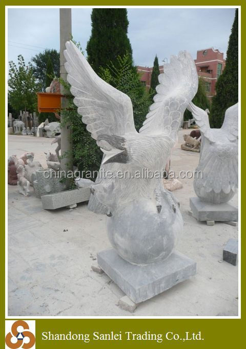 marble sculpture stone eagle statue