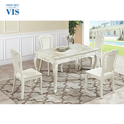 New Style Luxury Assemble Wood Classical Dining Room Sets