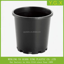 #1-#7 black plastic nursery tree pots