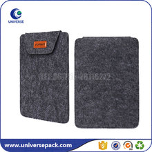 Wholesale Darker Grey Envelope Felt Packaging Gift Bag For Mini Ipad