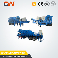 Chinese Manufacturers Full Service Leading Portable Mobile Coal Movable Iron Ore Crushing Station Plant Price For Sale In India