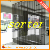Woven Wire Metal Room Dividers/Metallic Divider Curtain Home Design/Metal Mesh Drapery