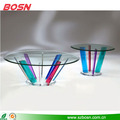 round clear plexiglass furniture tables acrylic coffee table