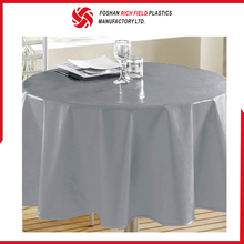 Fancy Customized Pvc Nonwoven Elegant Wedding Tablecloths