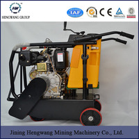 concrete cutting machine Honda engine 5.5HP asphalt road cutter machine for pavement