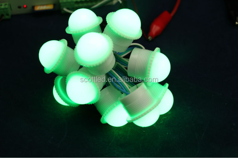 Factory direct china 26mm UCS1903 led pixel light module;3pcs 5050 rgb leds/module;1pcs module a string;DC12V;waterproof IP67