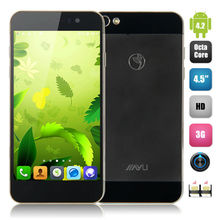 Dual Sim Card Mobile Phones 4.5 Inch MTK6592 Octa Core 1.7GHz Android 4.2 Screen Dual Camera 3.0+5.0MP 2G 16G JIAYU G5S