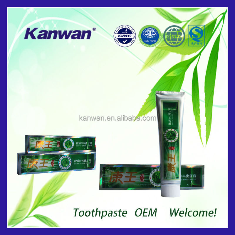 Mint flavor bamboo charcoal whitening toothpaste famous bamboo charcoal toothpaste brands