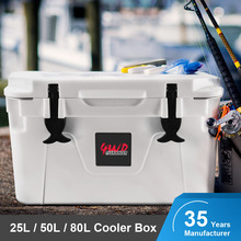 Commercial Fishing Plastic Rotomolded Reusable Ice Cooler Box