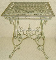 wholesale antique Wrought Iron Dining Table