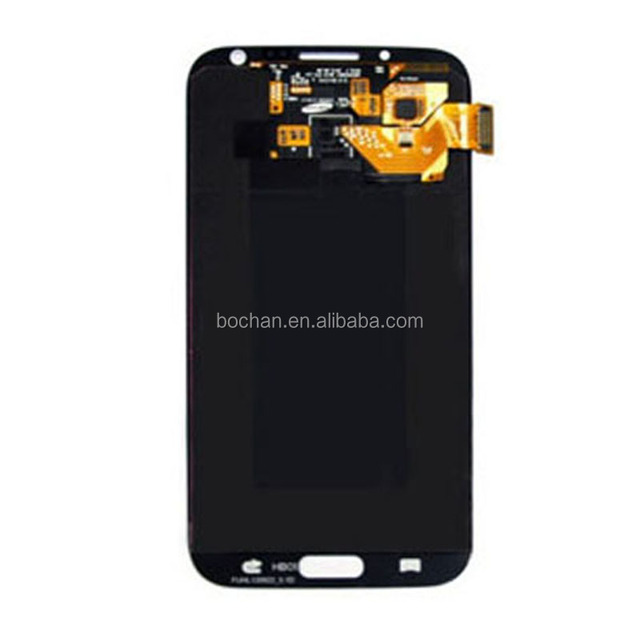 Wholesale AAA Cell phone parts lcds for samsung galaxy note 2 n7100 lcd display panels