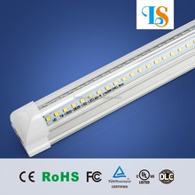 3-year Warranty Integrated 1.2m t8 LED Tube CE Rohs Approval 100LM/W High Luminous led shop light with stand dove led lights