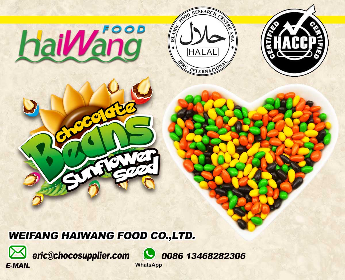 Sunflower seeds chocolate Chocolate candy China manufacturer chocolate