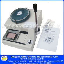 MD-11 New PVC Card Embossing Indenting Machine 70 Character Manual Printing