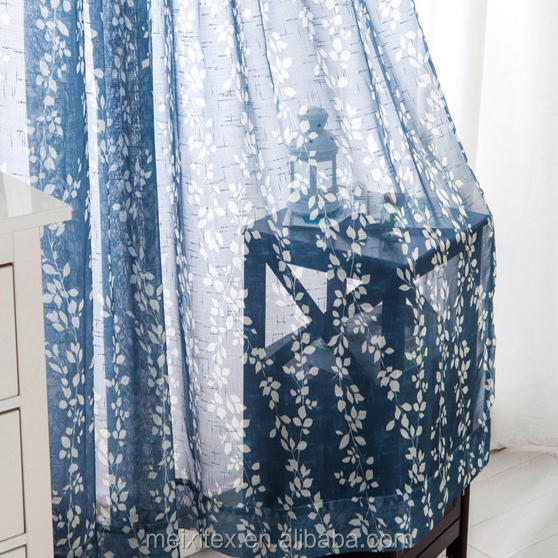 Cheap Hot Sale Products Wholesale Cotton Linen Printed fabric curtain
