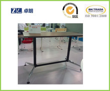 Hydraulic adjust table with two leg hydraulic sit standing desk