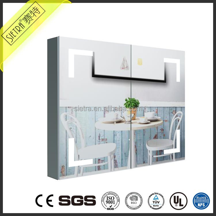UK US Style furniture mirror bedroom mirror with cabinet