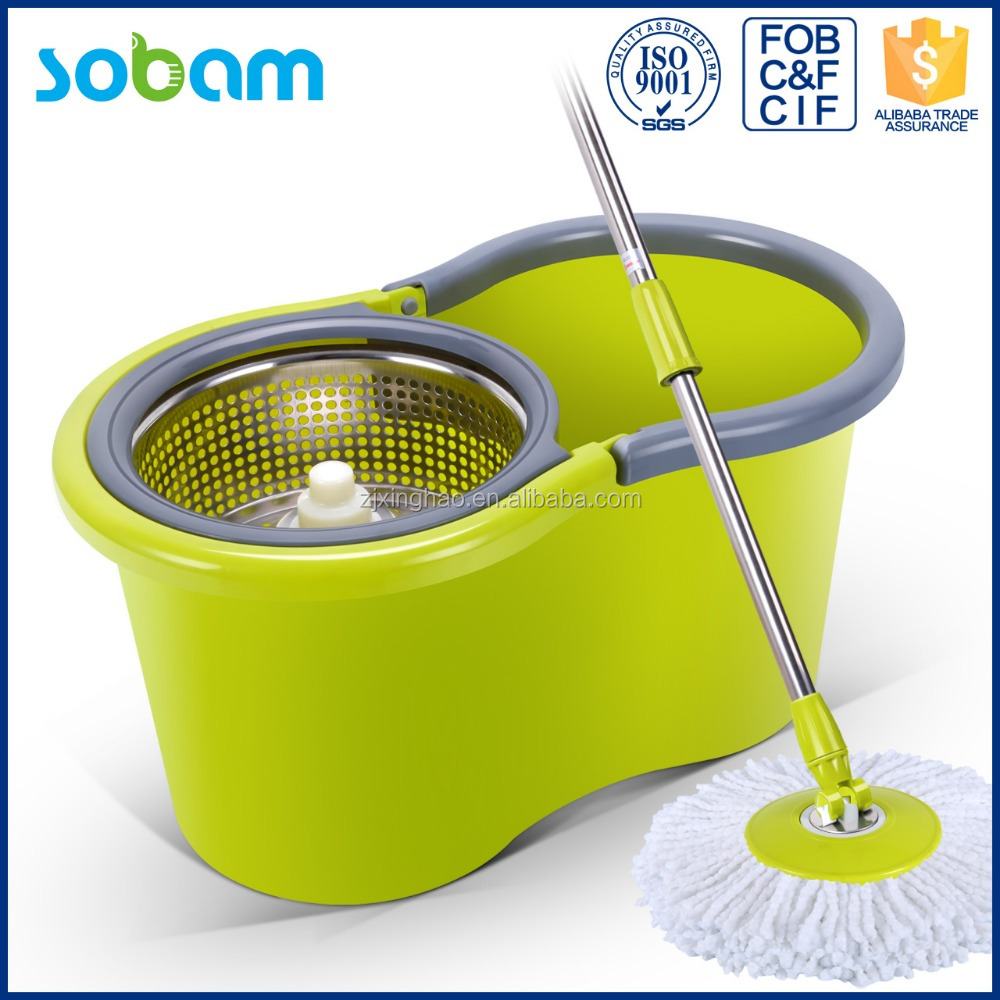 Convenient easy life magic mop,360 thick mop handle