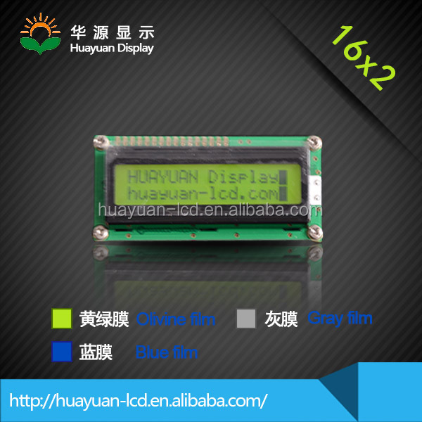 16x2 dot matrix lcd instrument cluster