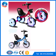 New model cheap 3 wheel flashing kids tricycle ride on toys for Malaysia market