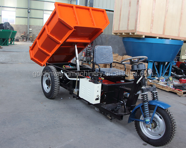 3 wheel good carrier cargo tricycle with cabin with competitive price