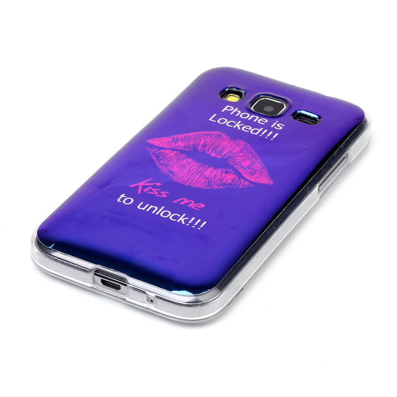 Hot Selling IMD Blue Light TPU IMD Back Cover Case For Samsung Galaxy Core Prime G360