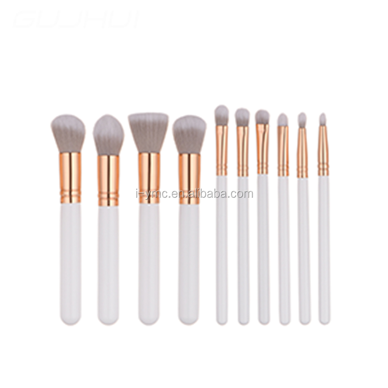 10 pcs Makeup Set Cosmetic with Bag for Face Eyes