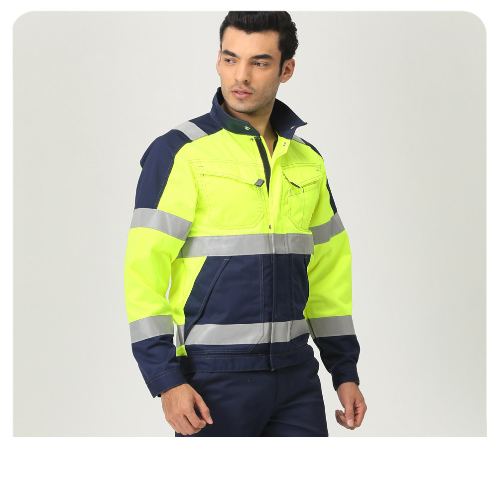 Hot sale high visibility reflective Waterproof Safety Workwear Jacket for Road workers