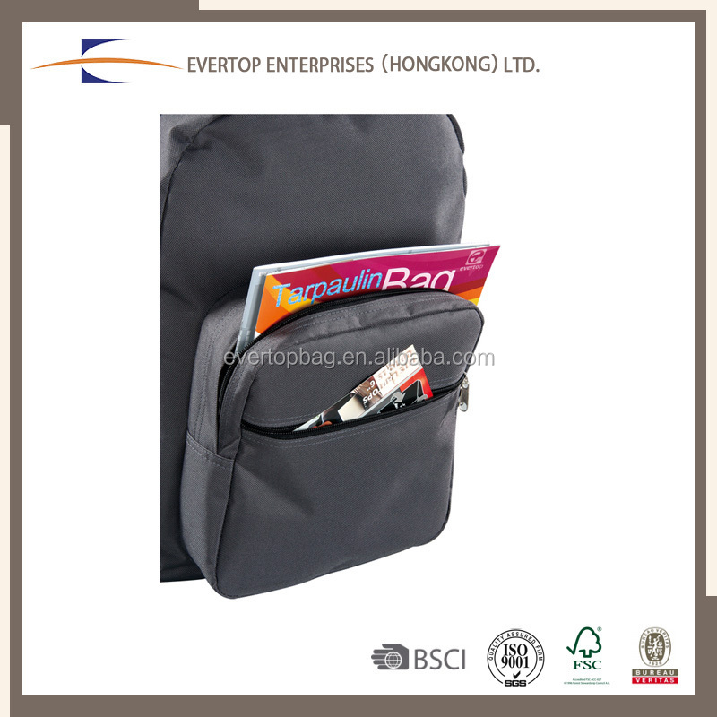 Multifunctional Logo Printed Polyester Computer Carry Tote Bag