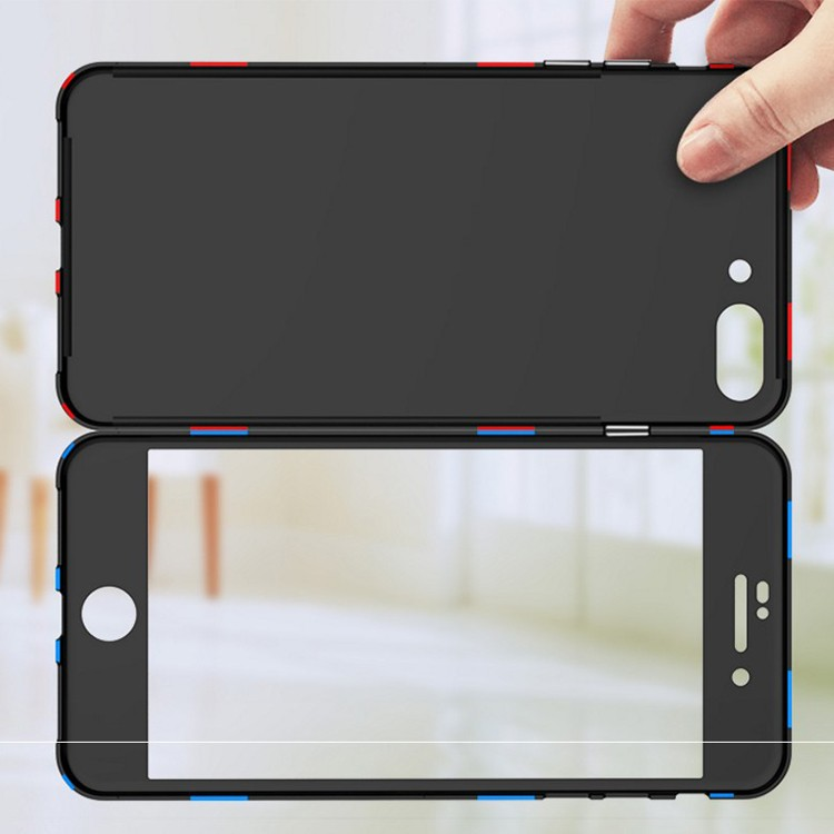 Built in Magnet Adsorption Case Cover for iPhone