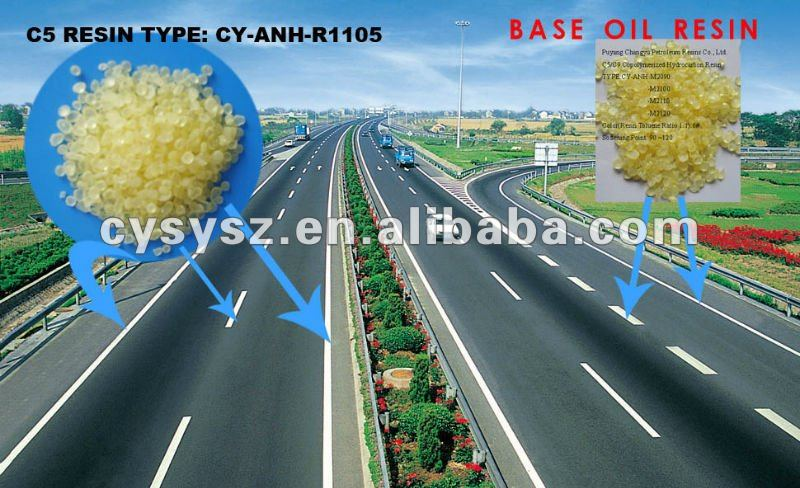 C5/C9 Copolymerized Hydrocarbon Petroleum Resin for The base oil of hot melt road marking paint