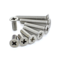 Stainless Steel Countersunk Head Screw, Flat Head Screw, Screw Spike
