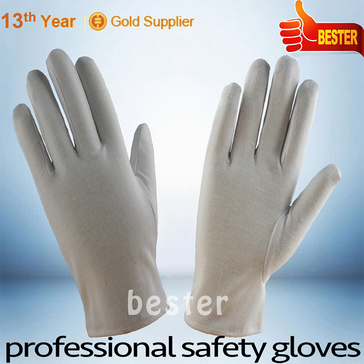 China factory price top sell perfect cotton gloves pvc dots