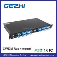 A full range of CWDM Mux-Demux and Optical Add Drop Multiplexer