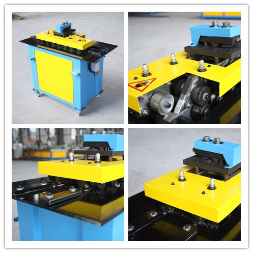 Pittsburgh lock forming machine for ventilation duct