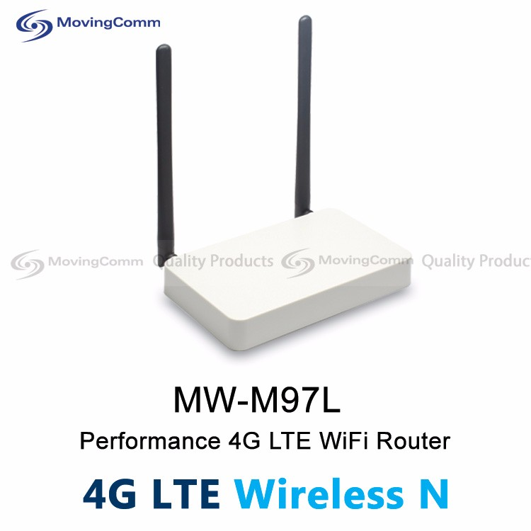 New Product MW-M97L Indoor Openwrt 2.4GHz WiFi 300Mbps MT7620A 2 FE port 4G LTE WIFI Modem