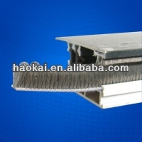 silicone aluminum weather srip / brush seal for windows