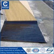 1.5mm self adhesive modified bitumen waterproof membrane