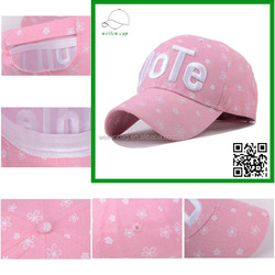 Custom factory price top quality spring and summer golf caps adjustable size 3d embroidery baseball caps