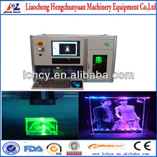 2d 3d crystal laser engraving machine