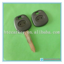 for toyota transponder key no chip blanks keys for cars