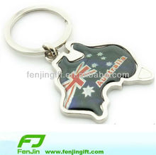 customized metal keychain australian souvenirs