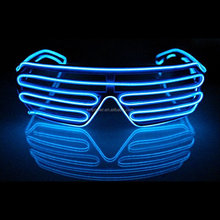 fluorescent party glasses for funny