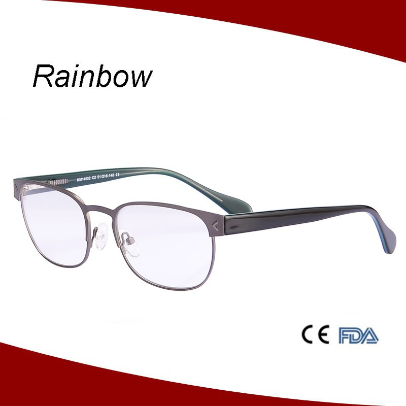 China wholesale flexible stainless steel eyeglasses metal optical frame